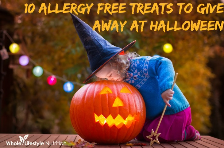 10 Allergy Free Treats To Give Away At Halloween | WholeLifestyleNutrition.com