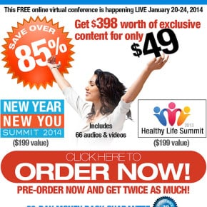 8 Reasons Why You Need To Sign Up For The New Year New You Summit 2014 | WholeLifestyleNutrition.com