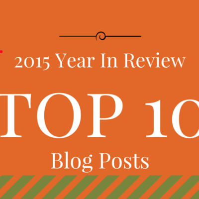 2015 Year In Review – Top 10 Blog Posts
