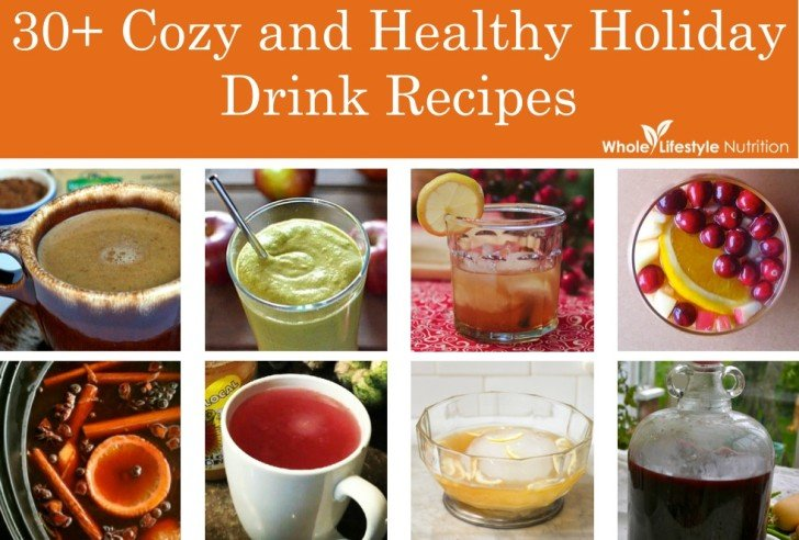 30+ Cozy and Healthy Holiday Drink Recipes
