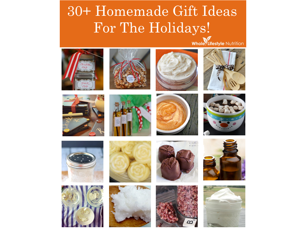 30+ Homemade Gift Ideas For The Holidays! PINT