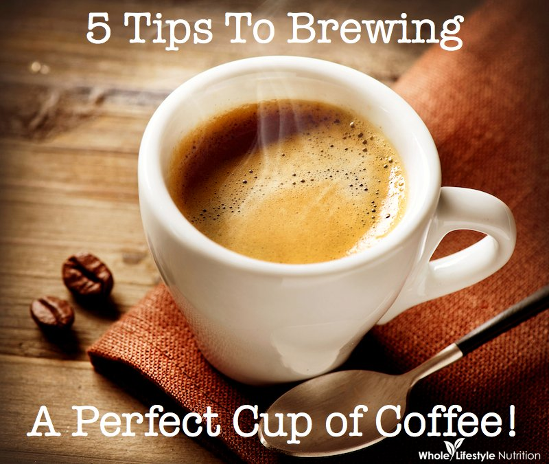 an advice on preparing perfect coffee Instructions on how to measure coffee and get the right proportion of ground coffee to water (hint: use a standard coffee scoop.