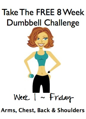 8 week dumbbell challenge | wholelifestylenutrition.com
