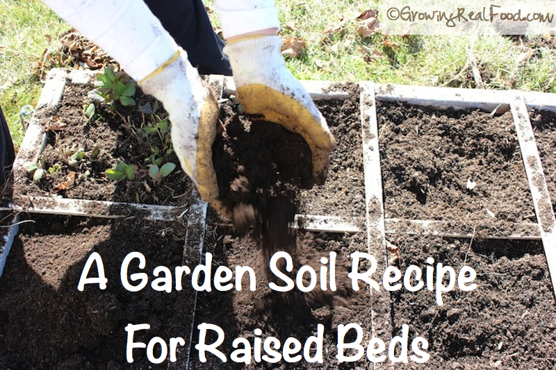 How To Make An Easy Organic Garden Soil Whole Lifestyle Nutrition