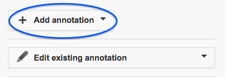 Add Annotation