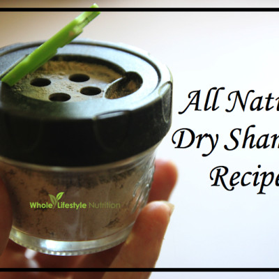 Natural Dry Shampoo Recipe