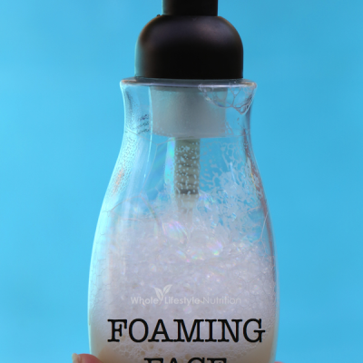DIY All Natural Foaming Face Wash Recipe