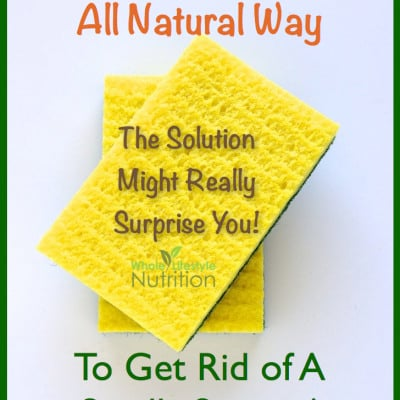 An All Natural Way To Get Rid of A Smelly Sponge