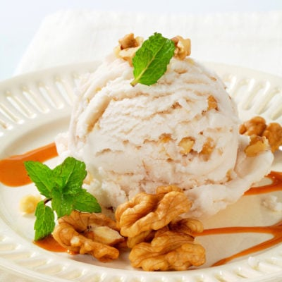 Organic Salted Caramel Ice Cream Recipe