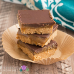 Caramel Nut Butter Bars