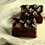 Caramel Sun Butter Sea Salt Brownies