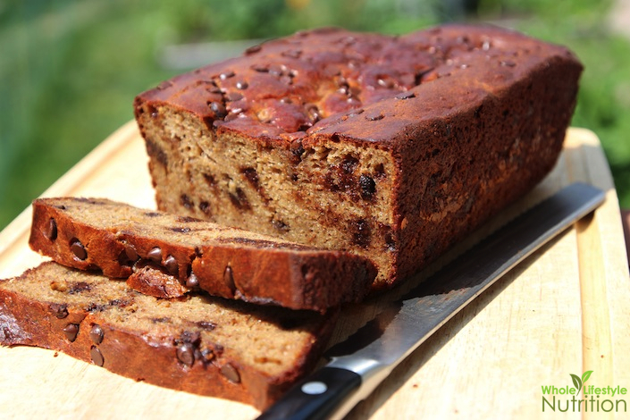 Chocolate Chip Banana Nut Bread {Paleo, Gluten Free and Grain Free ...