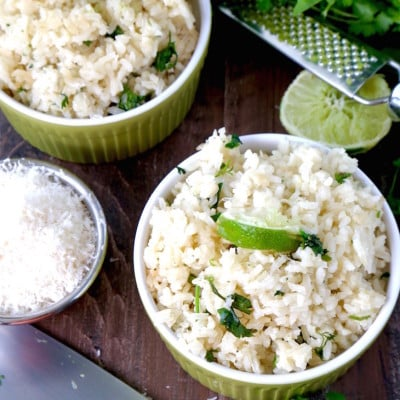Coconut Lime Cilantro Rice Recipe