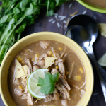 Crockpot White Bean Chili Recipe | WholeLifestyleNutrition.com
