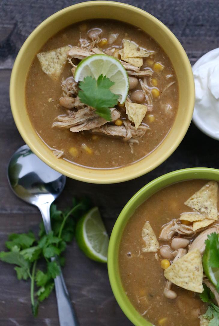 Crockpot White Bean Chicken Chili Recipe Whole Lifestyle Nutrition