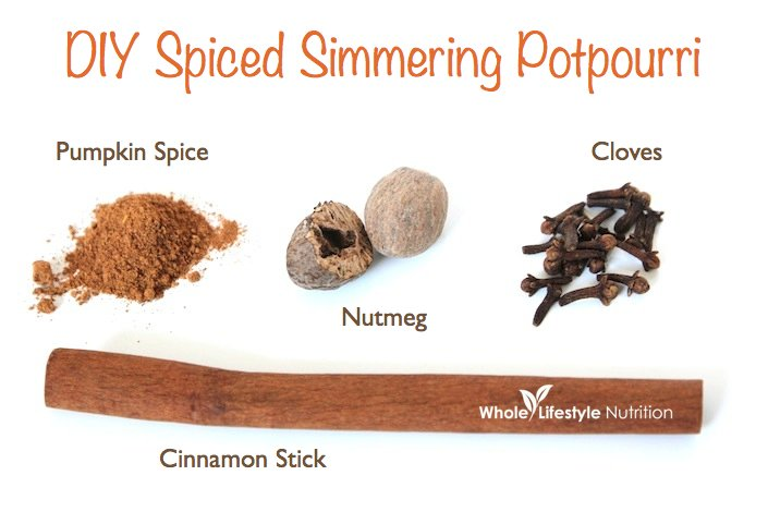 DIY Simmering Potpourri - Spiced Edition | WholeLifestyleNutrition.com.001