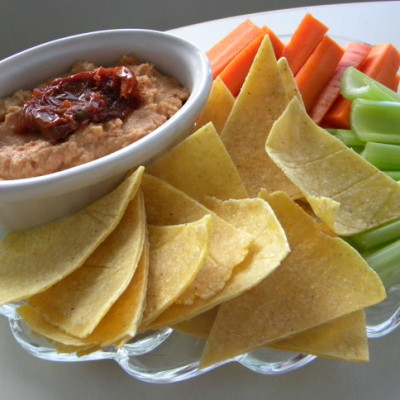 Organic Sun Dried Tomato Hummus Recipe