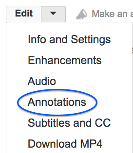 Edit Annotation