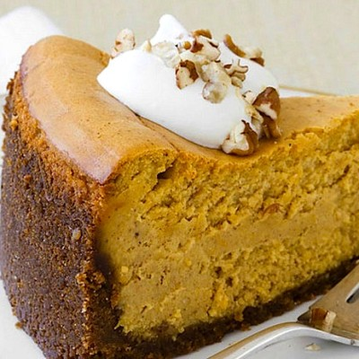 A Recipe Contest & A Recipe From Two of Our Viewers ~ Organic Pumpkin Cheesecake Recipe!