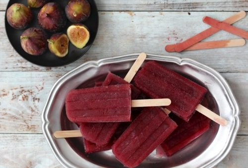 Fig and Clementine Port Wine Poptail