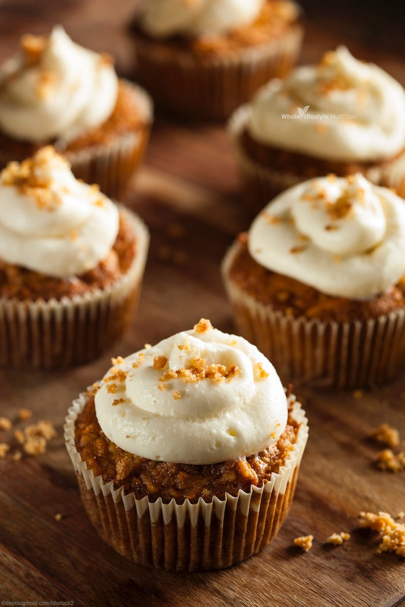 Gluten Free And Grain Carrot Cake Cupcake Recipe