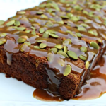 Grain Free Pumpkin Bread With Caramel Glaze