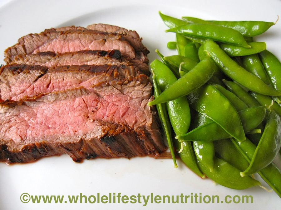 Grilled Marinated Flank Steak, Holistic Recipe - Whole ...