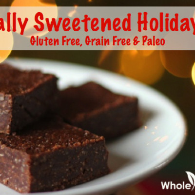 I'm Guest Blogging At Ditch The Wheat ~ Holiday Fudge Recipe