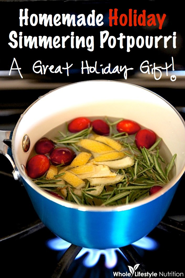 Homemade Holiday Simmering Potpourri | WholeLifestyleNutrition.com