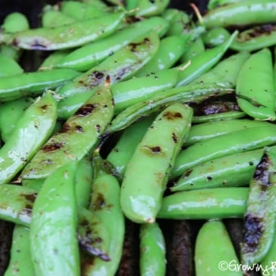 Grilled Sugar Snap Peas Recipe