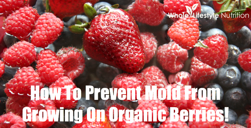 How To Prevent Mold From Growing On Organic Berries!