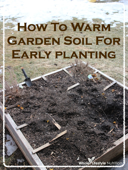 How To Warm Your Garden Soil Up For Early Planting | WholeLifestyleNutrition.com
