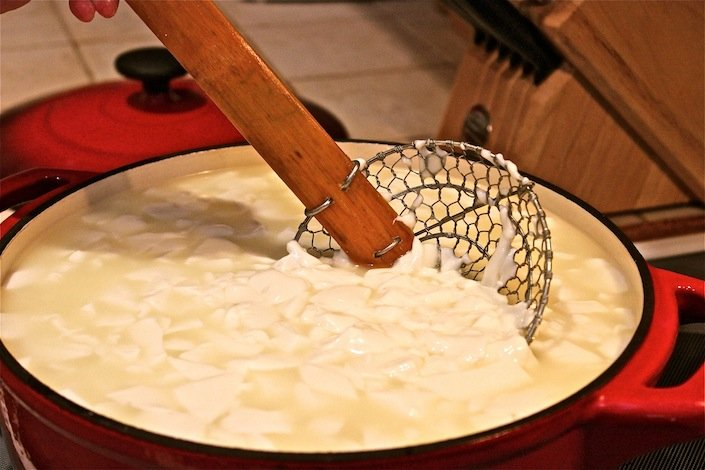 Stirring Curds