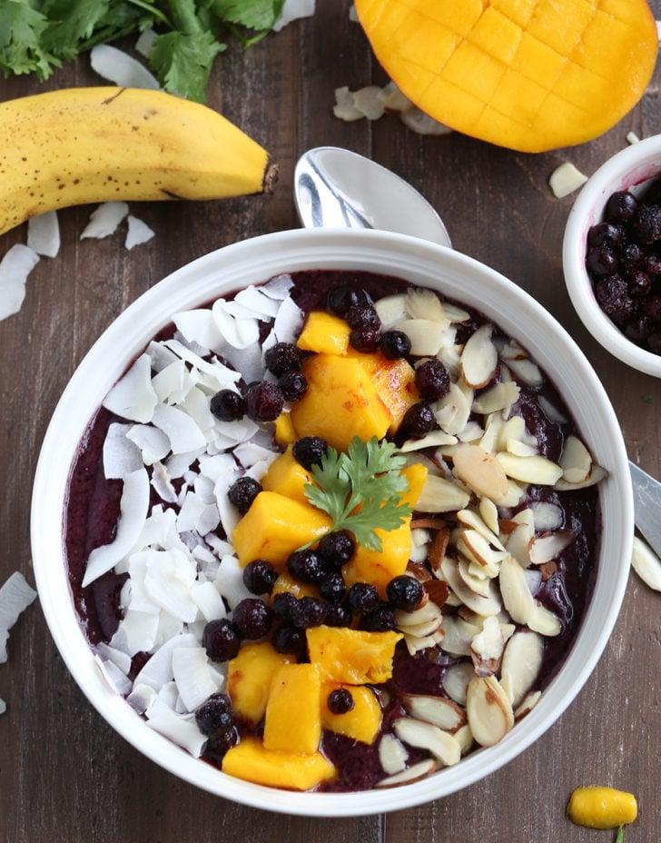 My New Breakfast ~ Smoothie Bowl Recipe