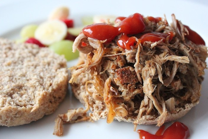 Pulled Pork BBQ Sandwiches | WholeLifestyleNutrition.com