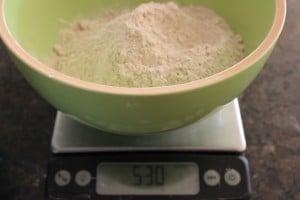 530 grams of spelt flour