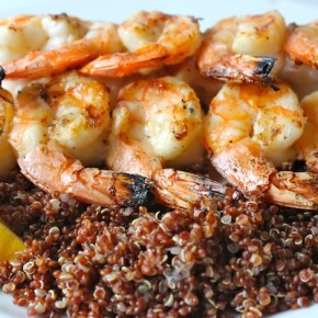Lemon Pepper Organic Grilled Shrimp Recipe