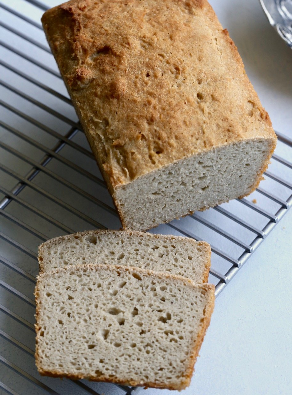 The Best Gluten Free VEGAN Bread Recipe You'll Ever Taste! {Egg Free} -  Whole Lifestyle Nutrition