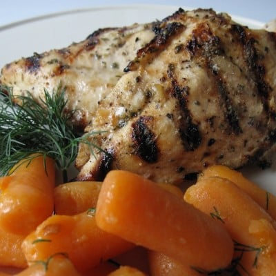 Organic Grilled Italian Chicken Recipe