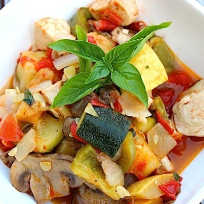 Right From Your Organic Garden ~ Homemade Ratatouille Recipe!