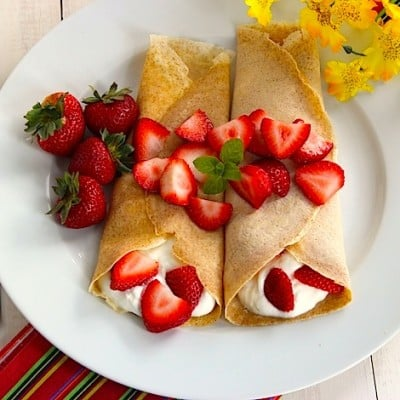 The Best Organic Crepes Recipe
