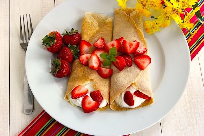 Crepe Recipe Filling Greek Yogurt