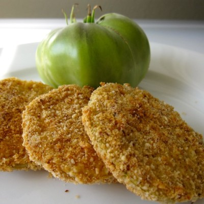 Organic Oven Fried Green Tomatoes Recipe