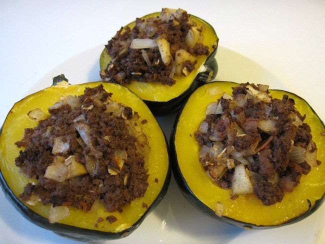 Stuffed Acorn Squash Holistic Recipe