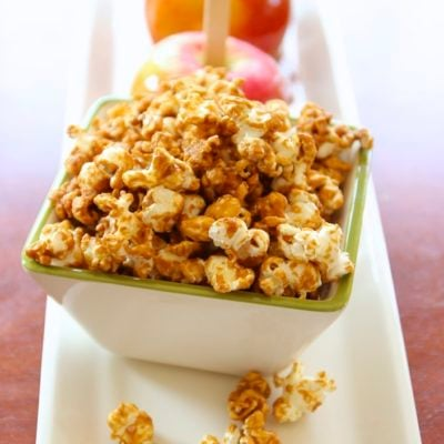 A Healthier Caramel Corn Made With GMO Free Corn & No Corn Syrup!