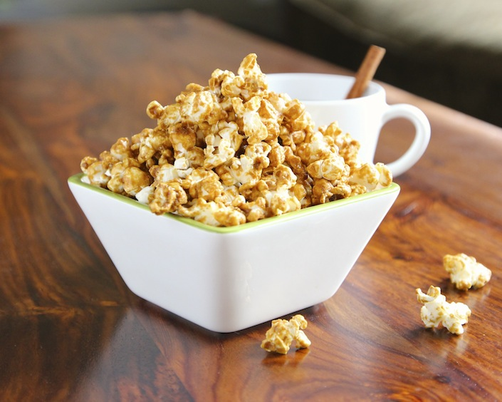 A Healthier Caramel Corn Made With GMO Free Corn & No Corn Syrup! - Whole Lifestyle Nutrition | Organic Recipes | Holistic Recipes