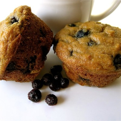 Organic Blueberry Muffin Recipe