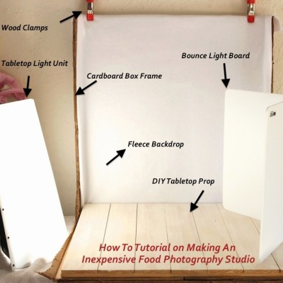 Behind The Scenes ~ Building Your Own Inexpensive Food Photography Studio!