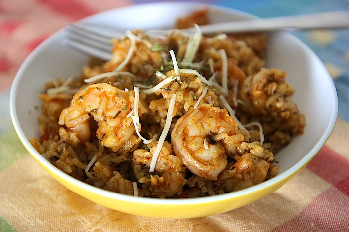 Shrimp & Rice Bowl | WholeLifestyleNutrition.com