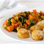 Sea Scallops & Sweet Potato Curry | WholeLifestylNutrition.com